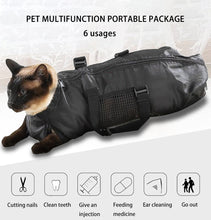 Load image into Gallery viewer, Multipurpose Cat Grooming Bag