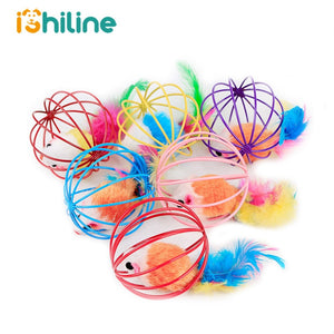 1Pc Cat Toys Hollow Ball