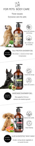 Dog Cat Shower Gel and Shampoo