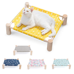 Cat Bed Lounge Hammocks also Small Dogs Rabbit Cats Durable Canvas Pet House Supplies