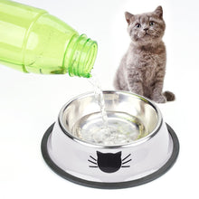 Load image into Gallery viewer, Dog Cat Bowl Stainless Steel