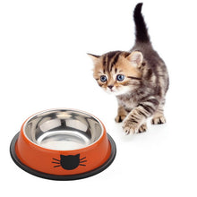 Load image into Gallery viewer, Dog Cat  Stainless Steel Anti-skid Water  Feeding Bowls