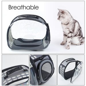 Transparent Cat Dog Carrying Bag