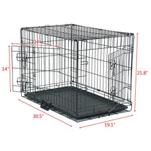 "Load image into Gallery viewer, 20"" Pet Kennel Cat Rabbit Dog"