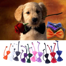 Load image into Gallery viewer, 10 Pcs/set Lovely Cute Bow Tie For Dog Cat Pet Necktie Neck Collar Dog Gentel Makeup Supplies Pet Christmas Party Decoration
