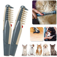 Load image into Gallery viewer, Electric Pet Grooming Comb and Hair Trimmer