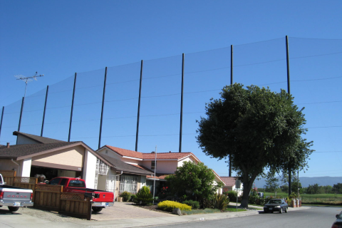 Golf Course Protective Netting