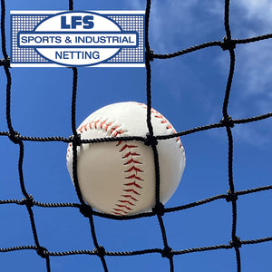 "#42 HDPE 12' X 14' X 55' BATTING CAGE (NET ONLY) ""EXCEPTIONAL"""