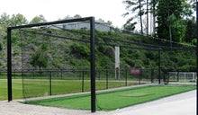 "Load image into Gallery viewer, #30 HDPE 12' X 14' X 70' BATTING CAGE (NET ONLY) ""EXCELLENT"""