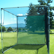 10 FT X 10 FT X 10 FT GOLF CAGE NET. HIGH-QUALITY NYLON CONSTRUCTION