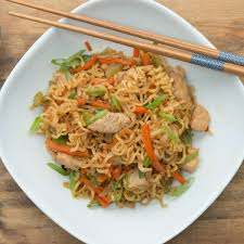 Blast from the past chicken chow Mein