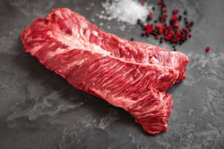 Ready to Grilled USDA Selected marinated Skirt Steak (16 oz.) Frozen