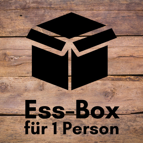 Ess-Box für 1 Person (ca. 2.5kg)