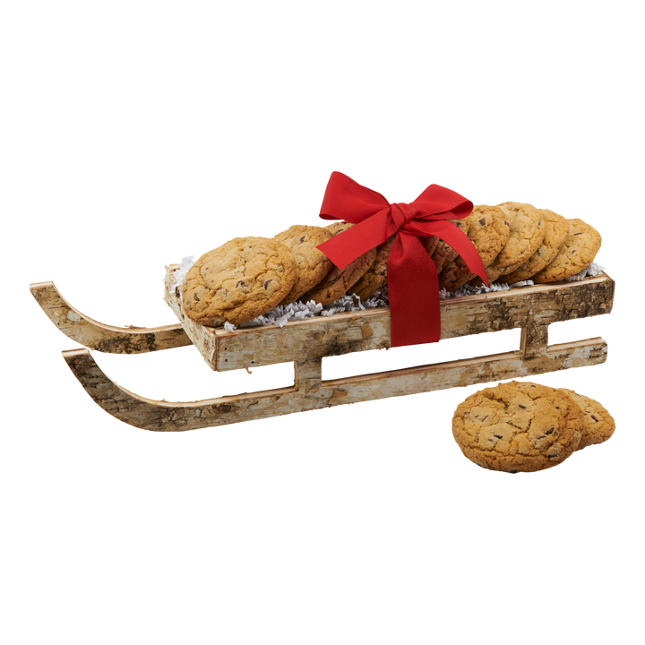 Sleigh All Day Cookie Basket