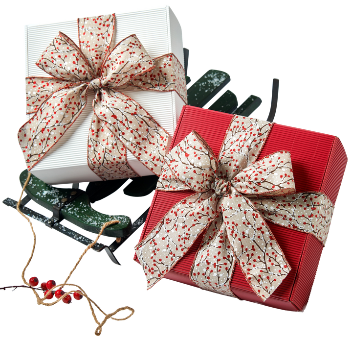 Snow Berry Cookie Gift Box