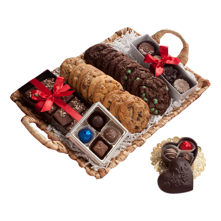 Talk Chocolate To Me Cookie Gift Basket