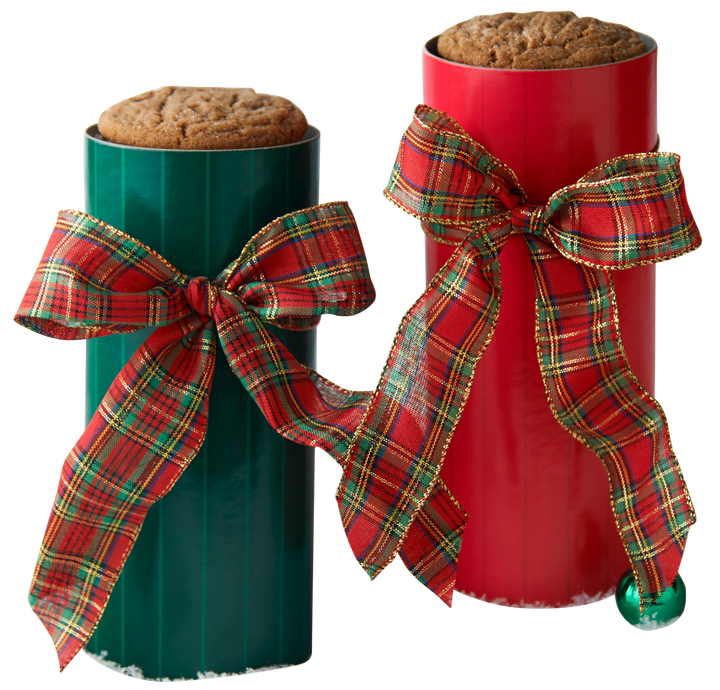 Tartan Scarf Cookie Gift Tower