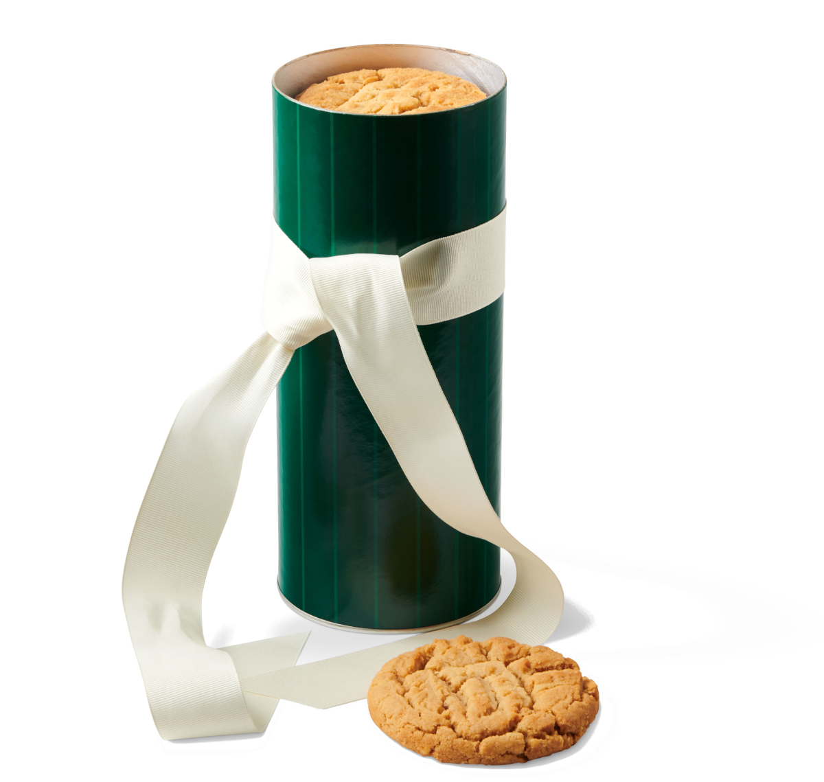 Pinstripe Cookie Gift Tower