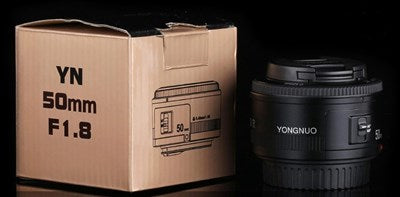 Yongnuo_ EF YN 50mm F/1.8 1:1.8 Standard Prime Lens for Canon Rebel Digital Camera
