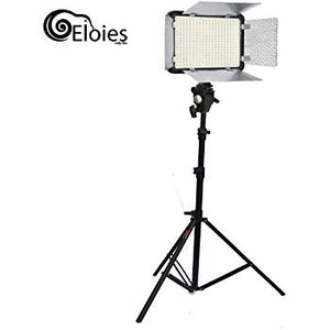 Simpex Professional 800 LED Video Light Extra Bright Dual Colour Light kit with Power Adapter | Simpex Light Stand
