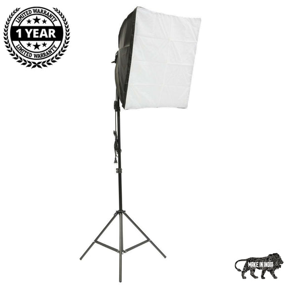 SIMPEX TRILITE- SOFTBOX KIT WITH 3 CFLS AND 1 STAND ( 1 Light )