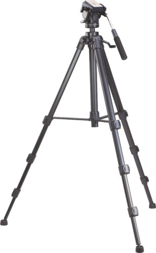 Simpex VCT 988 RM Professional Video Tripod  (Black, Supports Up to 5000 g)
