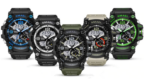 SMAEL SHOCK MILITARY WHATCH - Várias cores
