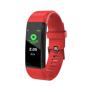 SmartWatchMeNow 115 PLUS Waterproof Sport Fitness Bracelet and Heart Rate Monitor - Watch me now Co
