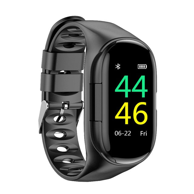 SmartWatchMeNow AI SmartWatch With Bluetooth Earphone and Heart Rate Monitor - Watch me now Co