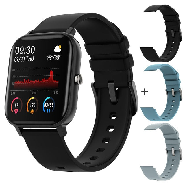 SmartWatchMeNow P8 1.4 inch Smart Watch Full Touch Fitness Tracker Blood Pressure - Watch me now Co