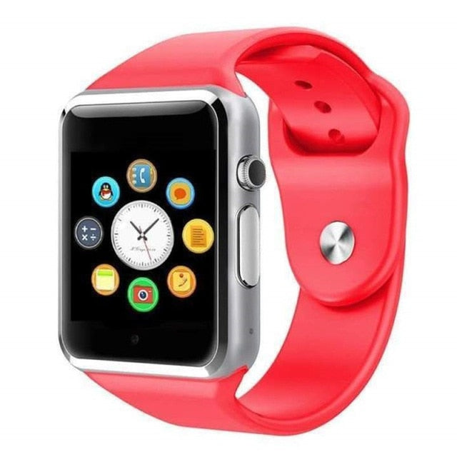 SmartWatchMeNow A1 Bluetooth Smart Watch Sport 2G With SIM TF Camera for Android PK iwo 8 DZ09 GT06 - Watch me now Co