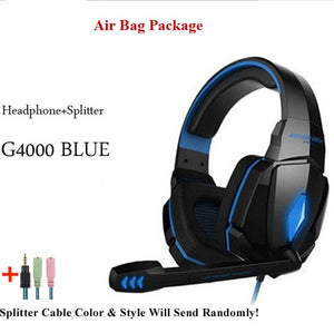 SmartWatch Me Now 🎧 Headset over-ear Wired Game Earphones with Microphone for PS4 new Xbox PC Laptop gamer
