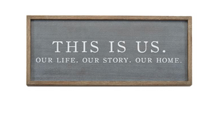 THIS IS US WALL PLAQUE