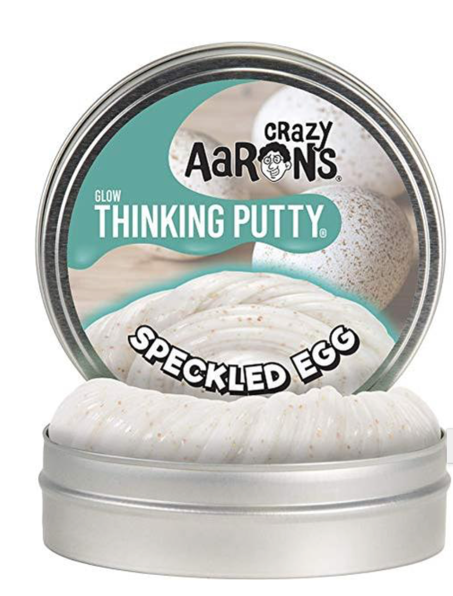 CRAZY ARRONS MINI GLOW SPECKLED EGG PUTTY