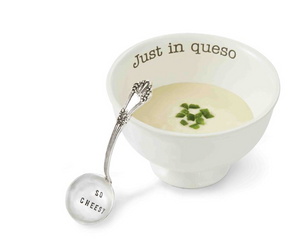 """JUST IN QUESO"" DIP BOWL SET"