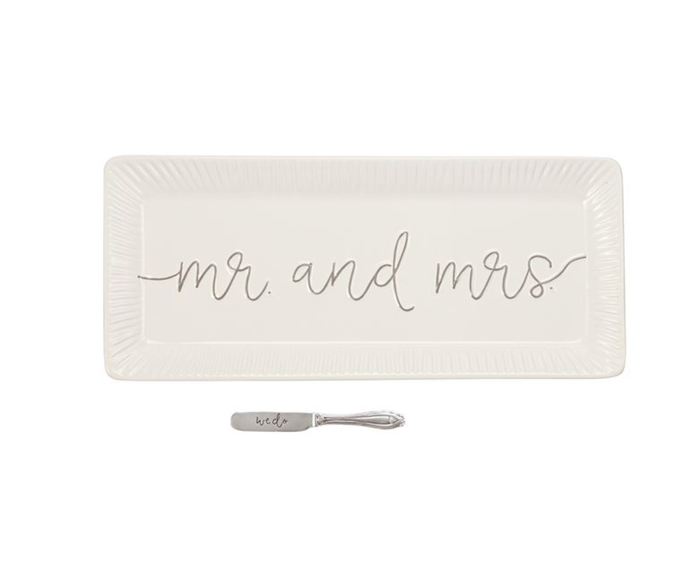 MR & MRS SERVING SET