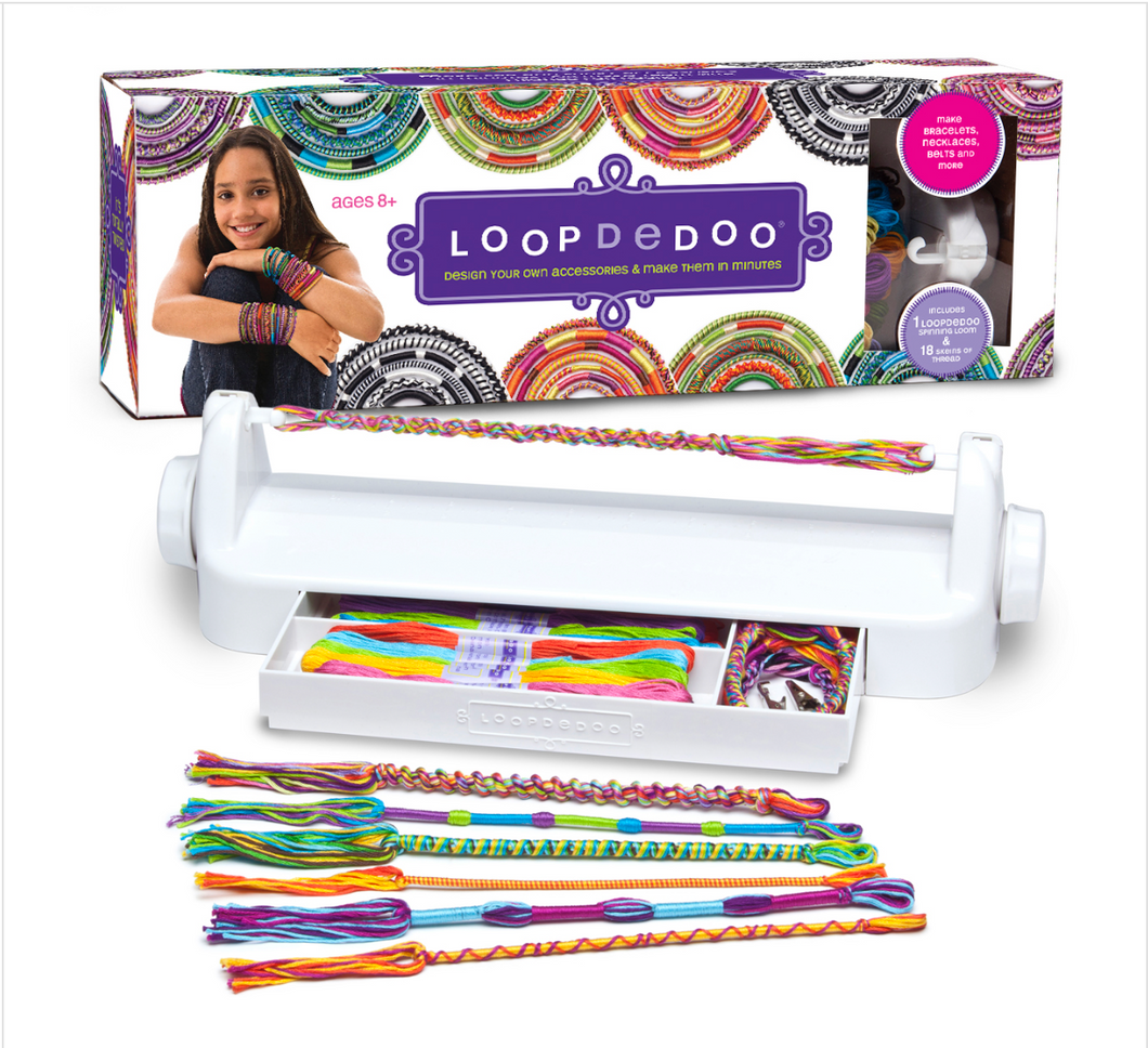 LOOPDEDOO FRIENDSHIP BRACELET MAKER