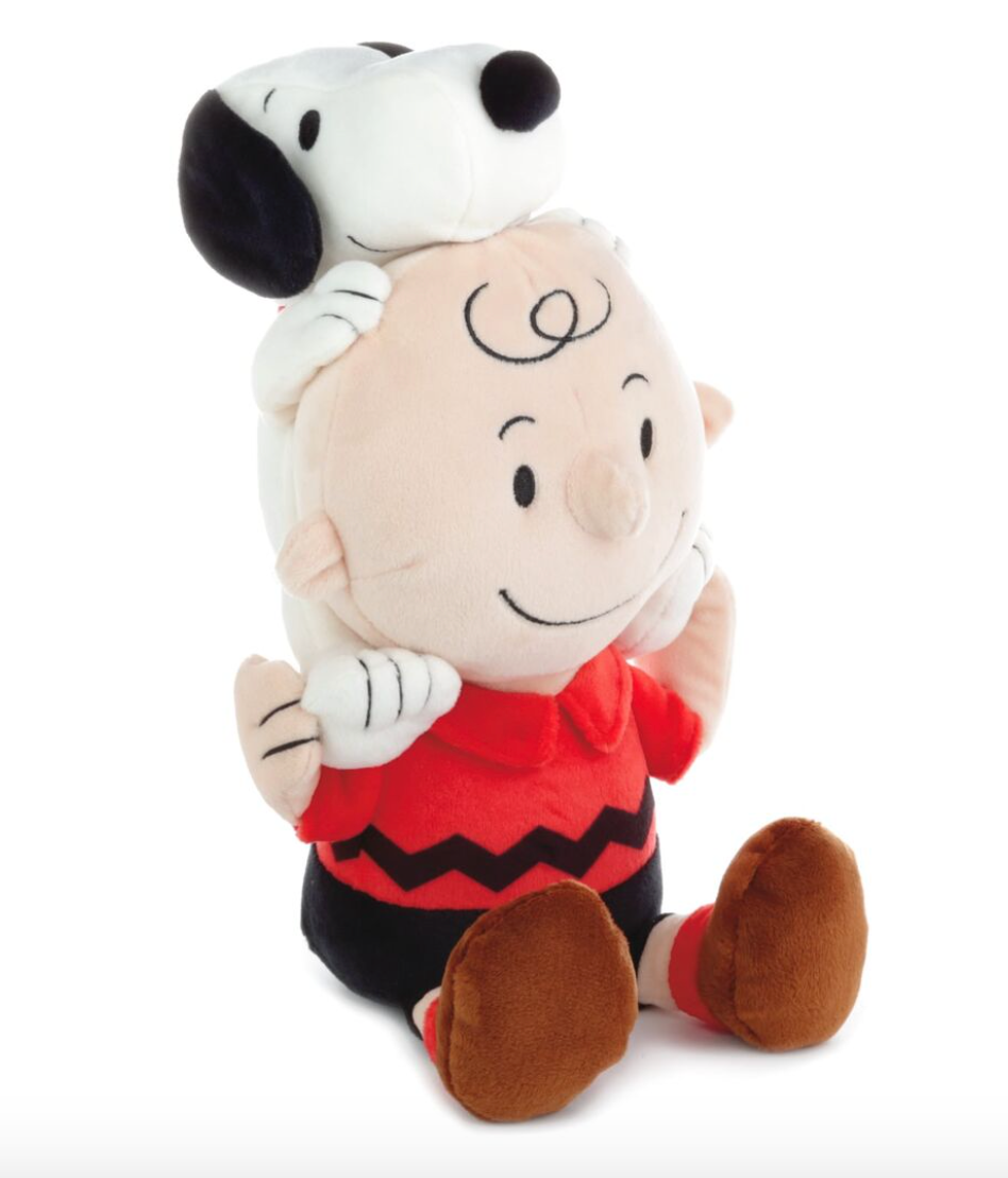 PEANUTS CHARLIE BROWN AND SNOOPY PLUSH