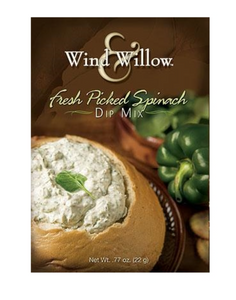 WIND AND WILLOW FRESH PICKED SPINACH DIP