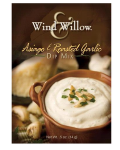 WIND AND WILLOW ASIAGO & ROASTED GARLIC DIP MIX