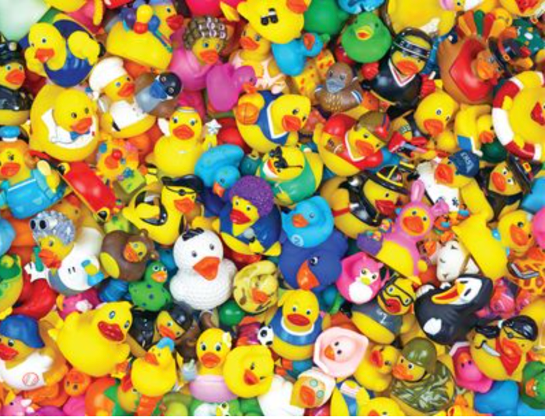 FUNNY DUCKIES 400 PC PUZZLE