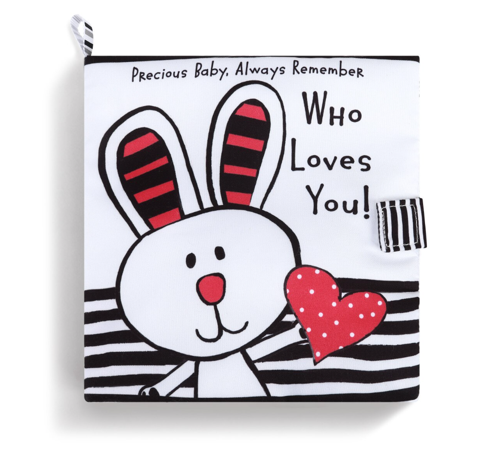 FABRIC BOOK ALWAYS REMEMBER WHO LOVES YOU