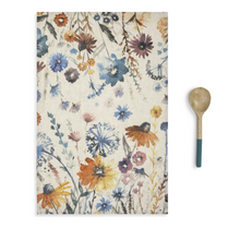Load image into Gallery viewer, MEADOW FLOWERS KITCHEN TOWEL & UTENSIL