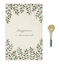 Load image into Gallery viewer, HAPPINESS KITCHEN TOWEL & UTENSIL SET