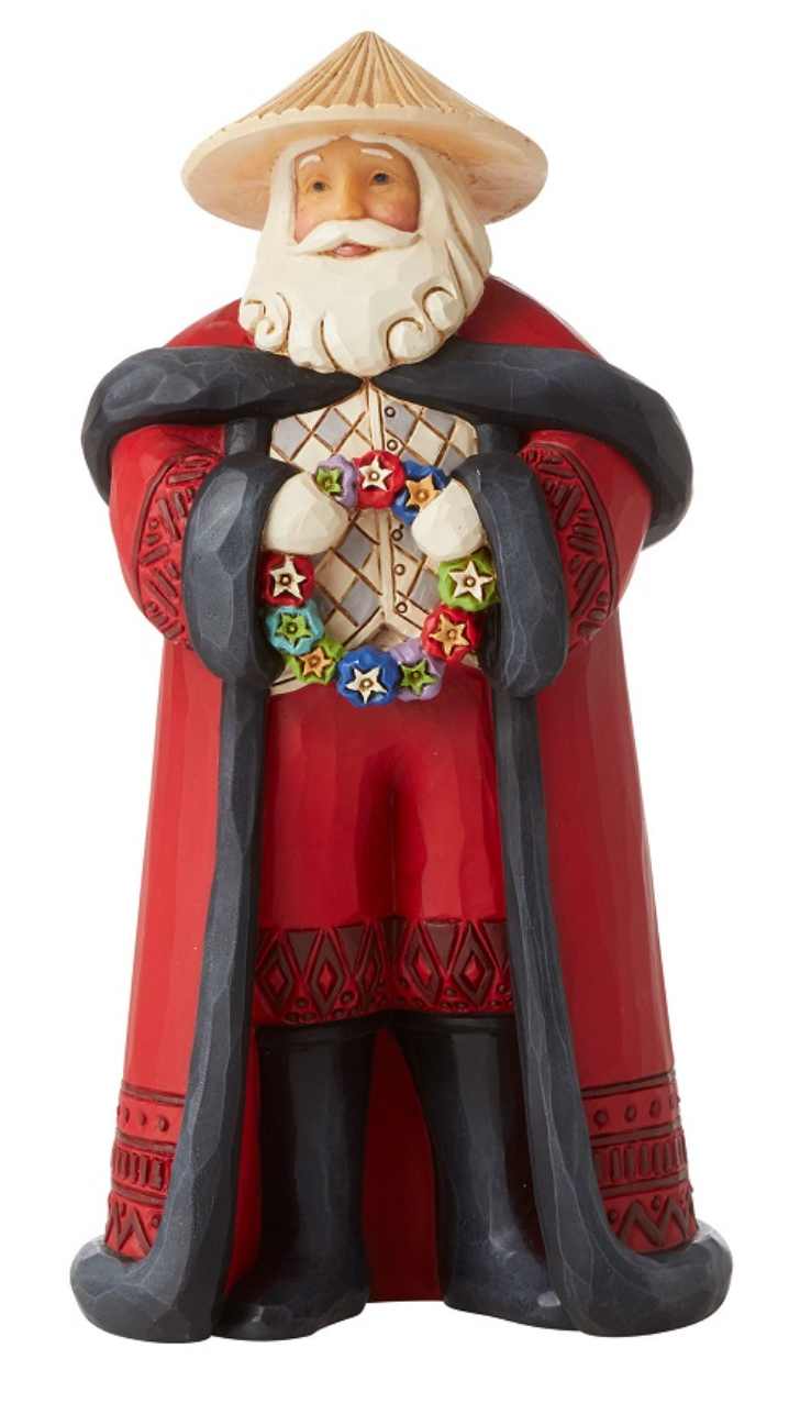JIM SHORE FILIPINO SANTA FIGURINE