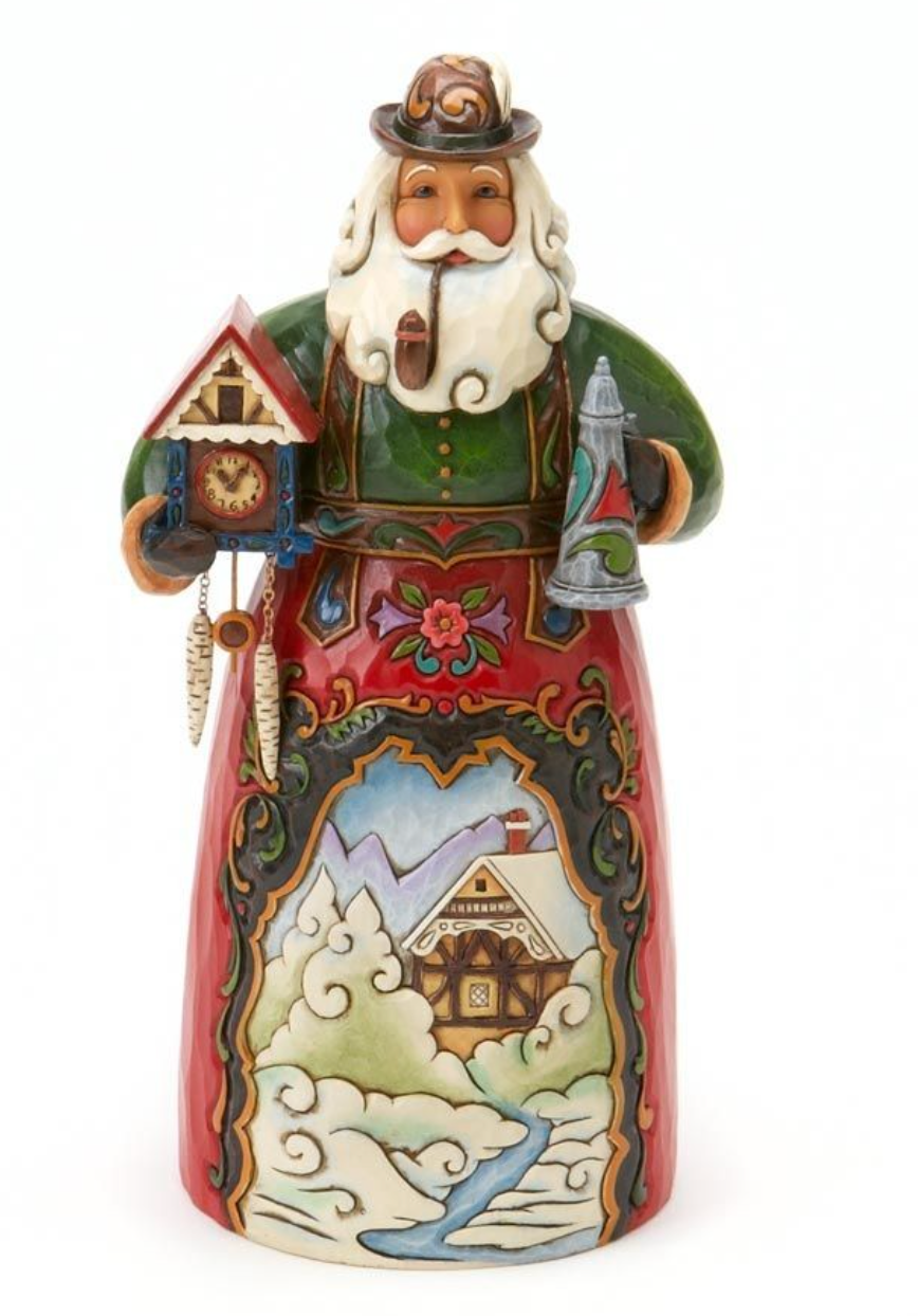 JIM SHORE GERMAN SANTA FIGURINE