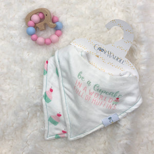 BIB SET BE A CUPCAKE