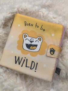 "FABRIC BOOK ""BORN TO BE WILD"""
