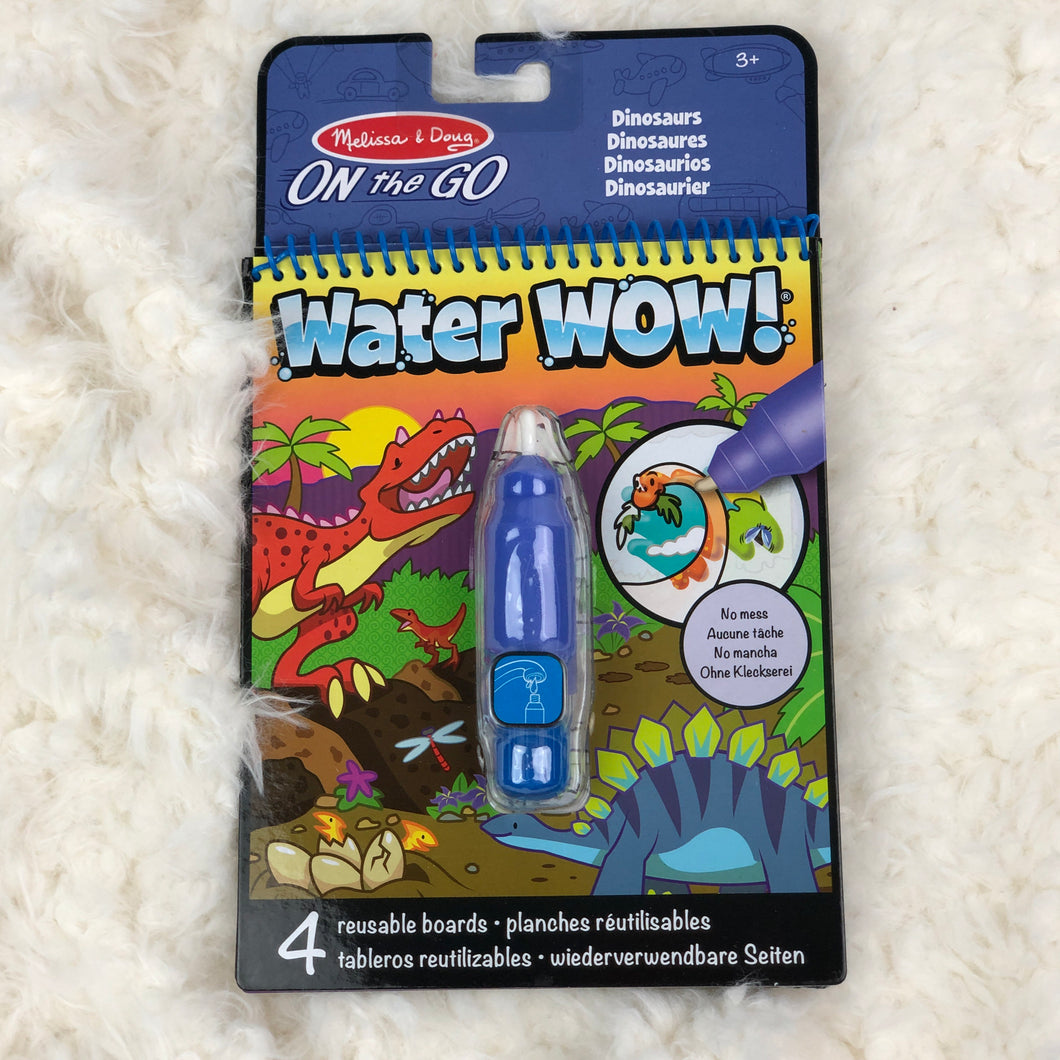 MELISSA & DOUG WATER WOW DINOSAURS