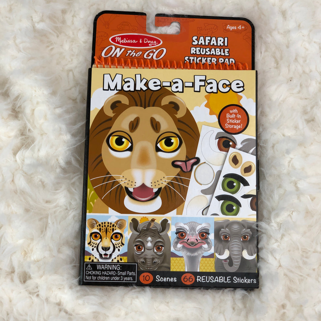 MELISSA & DOUG MAKE-A-FACE SAFARI